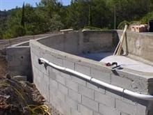 Construction Piscine Debordement Of Piscine R Novation Etanch It Polyester Construction Pre