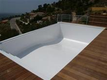 Piscine r novation etanch it polyester r alisations pre - Peinture piscine polyester ...